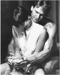 Ghost  This is one of many great movies with  Patrick Swayze is in!