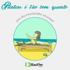 Pilatear é tão bom quanto um dia ensolarado na praia!