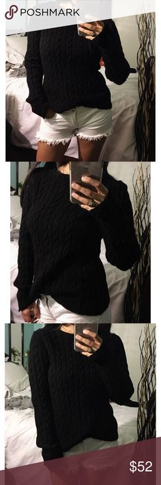 Black onyx Darken it to mention incredibly kitted sweater the clack is vibrant and very plush material. Not Brandy Melville . Brandy Melville Sweaters Crew & Scoop Necks