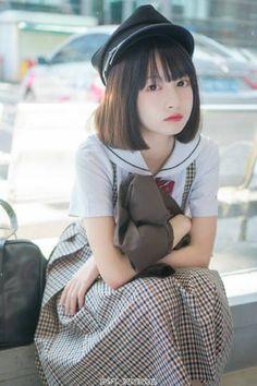 Cute Asian Girls, Beautiful Asian Girls, Cute Girls, Cosplay Outfits, Cosplay Girls, Cute Japanese Girl, Japanese School, School Uniform Girls, Asia Girl