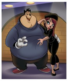 PJ and Beret Girl | by thweatted @ DeviantART.com // an extremely goofy movie