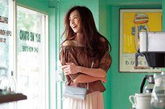 【発売中】 ランチにも結婚式にも!ハンズフリーなお財布Bagの4つの魅力  #anecan #mikiarimura #有村実樹 #モデル #samanthatavasa