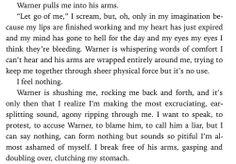 Ignite Me excerpt... Warner being adorable