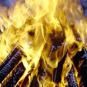 How to Make a Fake Fire Prop | eHow... Session 1
