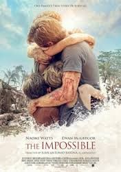 This is an oversees movie and done very well.  You'll be amazed at this true story that depicts the tsunami.    A regular family - Maria (Naomi Watts), Henry (Ewan McGregor) and their three kids - travel to Thailand to spend Christmas. They get an upgrade to a villa on the coastline. After settling in and exchanging gifts, they go to the pool, like so many other tourists.