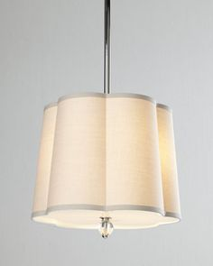 Scalloped-Shade Pendant Light by Regina-Andrew Design at Horchow.