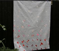 Elli Beaven Dispersal Quilt https://www.flickr.com/photos/77640199@N04/26775058033/in/dateposted-public/ for the Umbrella Prints Trimmings Challenge 2016. Made with one packet of Umbrella Prints fabric Trimmings www.umbrellaprints.com.au