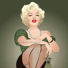 Marilyn Monroe as Cherie in the 1956 film 'Bus Stop' Marilyn Monroe Pop Art, Candle In The Wind, Norma Jeane, Pin Up Girls, Caricature, Aurora Sleeping Beauty, Illustration Art, Cartoon, Disney Princess