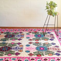 Image of Mexican Flokarti lambswool rug