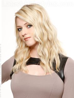 The Beach Wave Soft Cascading Blonde Waves
