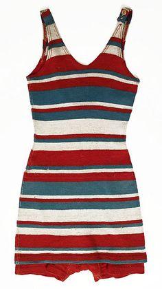 Bathing suit   Date: ca. 1930    Culture: probably American    Medium: wool
