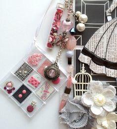 Fancy Mini Pocket Letter Elegant Mini Charm by Jackie Benedict