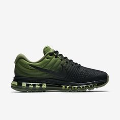 newest 98732 61c12 Purchase This Nike Air Max 2017 Green Black Sports Running Shoes Discount  Now
