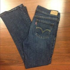 """Super cute 515 Levi jeans  Super cute 515 Levi jeans  99% cotton, 1% elastic. These are bootcut and the inseam is 32"""" waist is 29"""" Levi's Jeans Boot Cut"""