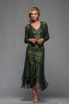 J0an Rivers 2015 Newest Mother Of The Bride Dresses A Line V Neck Long Sleeves Tea Length With Appliques And Beaded Beach Party Gowns Joan Joan Rivers From Imonolisa, $151.35  Dhgate.Com