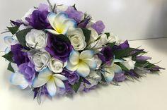 Frangipani Wedding, Purple Wedding Bouquets, Floral Wreath, Wedding Ideas, Wreaths, Floral Crown, Door Wreaths, Deco Mesh Wreaths, Floral Arrangements