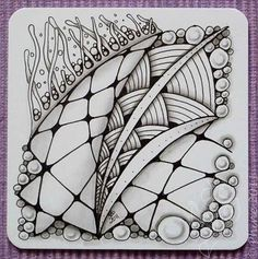 lots of zentangles to look at