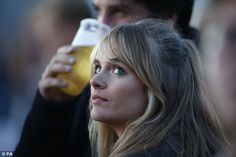 The royal's former girlfriend Cressida Bonas joined the crowds at the concert on Sunday ni...