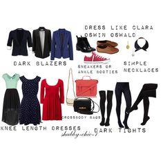 """dress like clara oswin oswald"" by shabby-chic-1 on Polyvore"