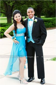 Awesome Prom photo. Great looking couple on their way to Cranbrook's Prom. #couple #prom #cranbrook #seniors