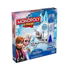 Monopoly Junior de Frozen  ¡¡CHOLLO!! Monopoly Junior de Frozen por 14,39€ hasta el 26 de Mayo. Edición especial con el tablero y las fichas personalizadas. ¡Genial como regalo!