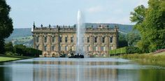 Chatsworth House, Derbyshire or Pemberly from Pride & Prejudice