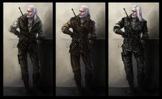 Witcher's armors concept by Afternoon63 on DeviantArt
