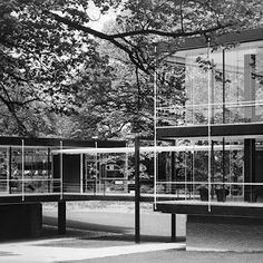 EGON EIERMANN - Pabellon de Alemania. Expo Bruselas 1958 | Patrimonio Arquitectónico de Asturias
