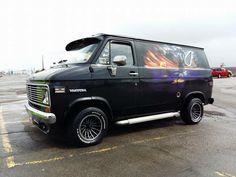 Custom 70's Vandura van