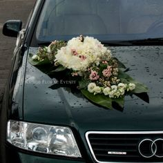 Fresh Flowers Only.- Wedding Cars, Fresh Flowers, Pink, Hot Pink, Pink Hair, Rose