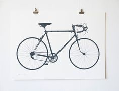 We like bikes! Both as vehicle, activity and eye-candy.  Världsmästarcykeln (World Champion Bicycle) is screen printed by hand in dark grey, GRAFIT.Size: 64 x 46 cmPaper: Munken Pure, 240gStamped title and  signed with pencil (L. E. TANTTU).Limited and numbered edition of 300. Rolled and packaged with care.