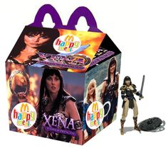 """Xena: Warrior Princess"" Happy Meal"