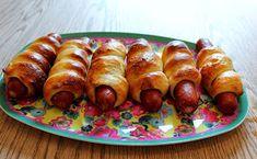 Monicas Matverden: Innbakte pølser Tapas, Sausage, Meat, Food, Sausages, Essen, Yemek, Meals