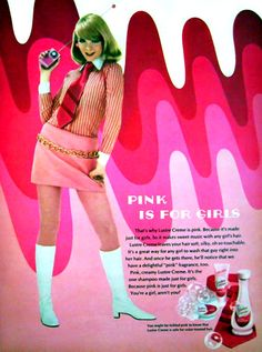 """the60sbazaar: """" 1960s Lustre Creme advert """""""