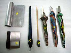 Making Clay Tools