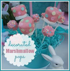 Decorated Marshmallow Pops