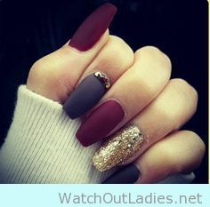 Want to try a new design for matte nails this next winter? Either you go for a stiletto design in monochrome or get a bit trendy mixing nail art designs, either way, make sure you always follow the rules to a perfect manicure.
