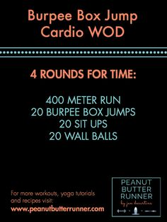 A Total Body Strength Workout & A Cardio CrossFit Workout + Weekly Workout Recap - Perfect İdeas For Doing Exercise Box Jump Workout, Wod Workout, Strength Workout, Gym Workouts, At Home Workouts, Workout Ideas, Bootcamp Ideas, Workout Body, Training Workouts