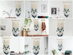 I watched the hand work over and over again, and came to it twenty times, but each time I had to start from the beginning until I was completely satisfied. Originally made this handicraft Tapestry Weaving, Handicraft, Hand Knitting, Hand Weaving, Gallery Wall, Times, Diy, Home Decor, Craft