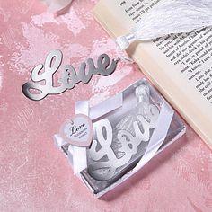 Love+Design+Metal+Bookmark+Wedding+Favor+–+AUD+$+2.35