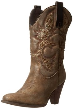 Very Volatile Women's Arienette Bootie >>> Tried it! Love it! Click the image. : Women's cowboy boots