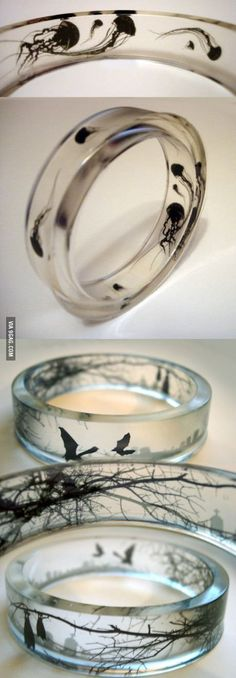 "Omg! These are ""Friendship Rings"" and they can put any design in them!!! But i love the Jellys!"