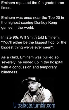 Eminem Ultrafacts.tumblr.com