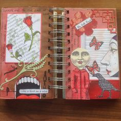 Small journal pages