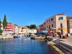 Small town Veli Losinj on the island of Losinj, #island #losinj #Croatia