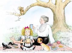 No one can read Eloise like my mom!  Love these stories because of her!