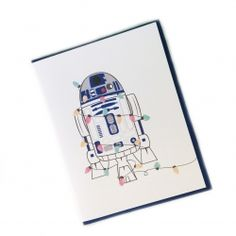R2D2 Holiday Card - Unicorn Crafts