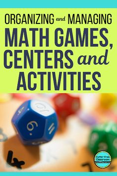 Check out these elementary math centers, games, and activities in this blog post! It's packed with game ideas, teaching strategies, organization tips, accountability strategies, and homework recommendations. Grab the printable resources while you are there! #mathcenter #mathcenters #mathgame #mathgames #mathactivity #mathactivities #guidedmath #mathworkshop