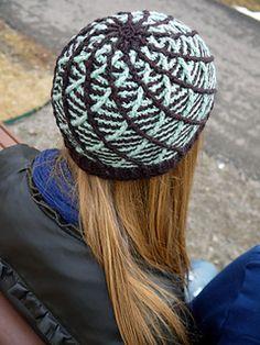 Mintchocolatecrochet3_small2 - wow!  those criss cross swirls are fabulous!  Crochet hat, tam, beanie