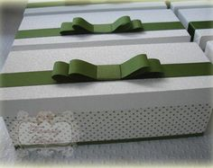 Caixa Baby Chandon Verde Branca